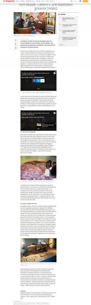 Screenshot_2020-02-13 Port-Musée « Bistro », une exposition grisante [Vidéo]