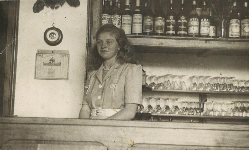 Mme Chorlay - La Pointe - 1948